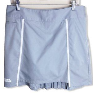 Adidas Gray Pleated Skort Sz 10 Puremotion CoolMax